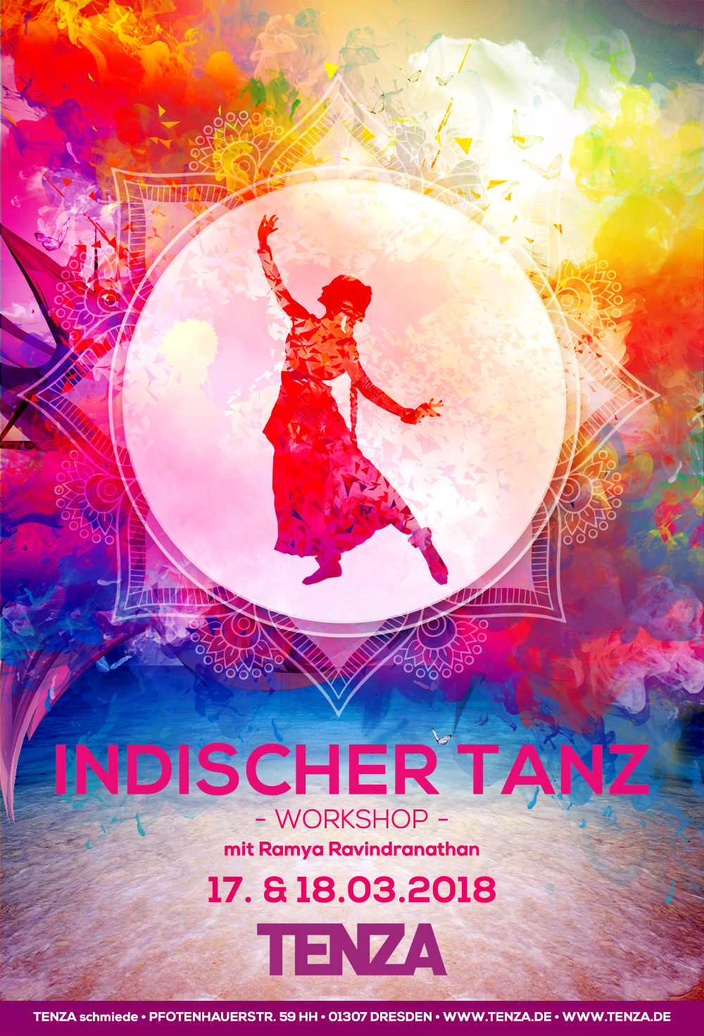 TENZA schmiede Indischer Tanz Indian Dance Dresden Workshop